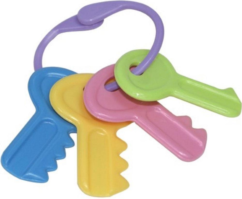 Lubby Прорезыватель-погремушка Ключи погремушка lubby ключи цвет в ассортименте