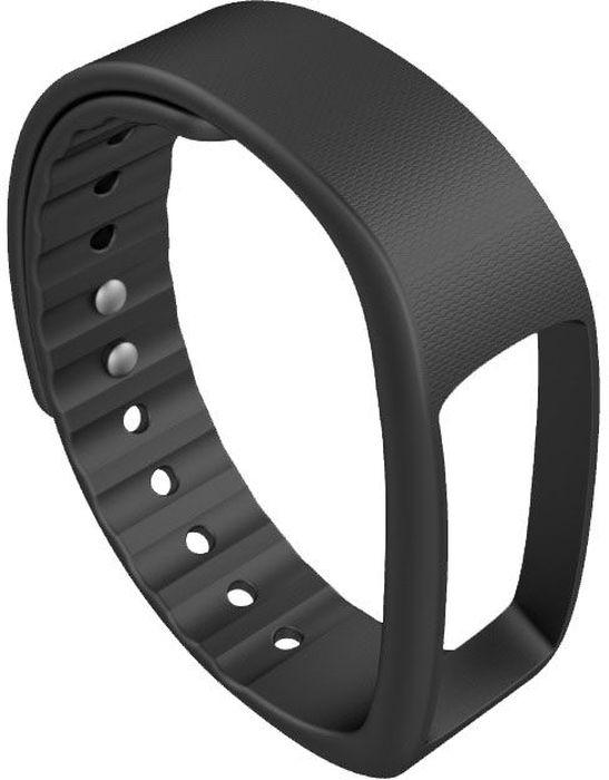 Ремешок для фитнес-браслета iWOWN i6HR, черный умные часы iwown i6hr black