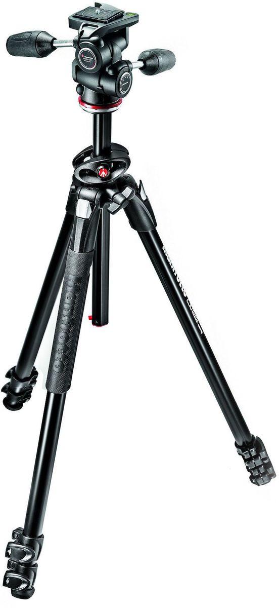 Штатив Manfrotto MK290DUA3-3W, Black цена