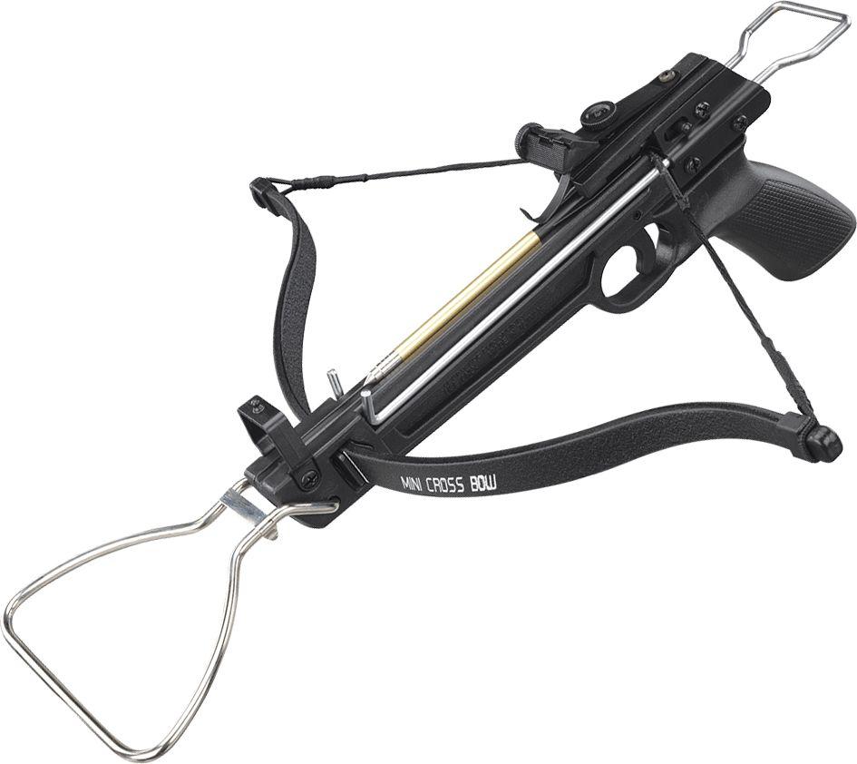 Арбалет-пистолет Man Kung, цвет: черный, 80 lbs. MK/MK-80A1 арбалет рекурсивный man kung цвет черный 95 lbs