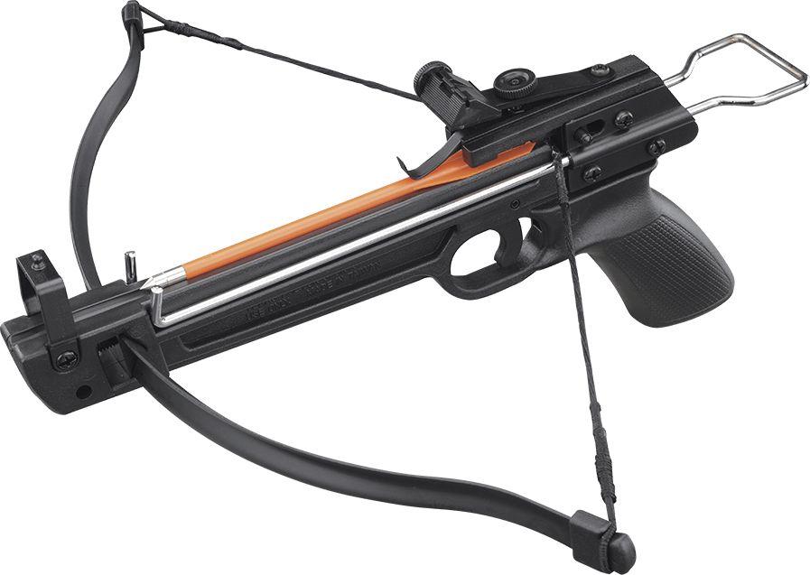 Арбалет-пистолет Man Kung, цвет: черный, 50 lbs арбалет рекурсивный man kung цвет черный 95 lbs
