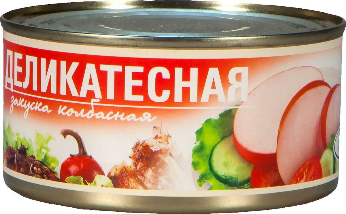 Рузком Колбасная закуска Деликатесная, 325 г рузком колбасная закуска домашняя 325 г