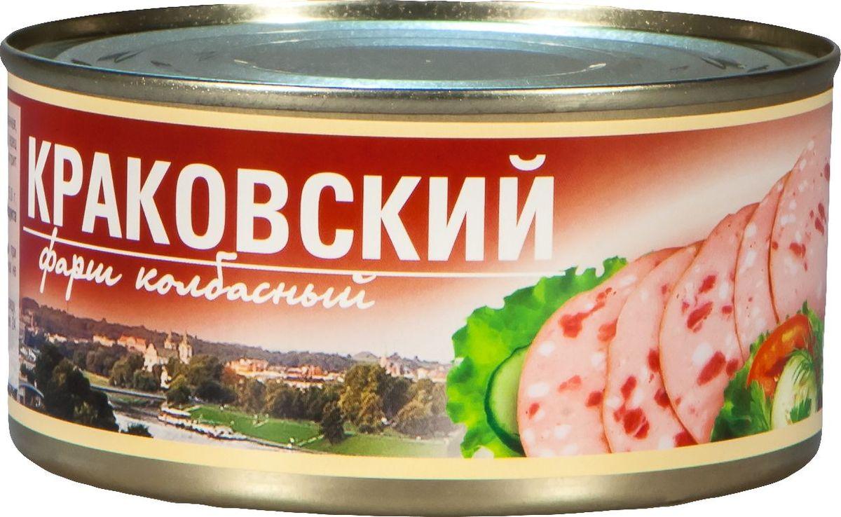 Рузком Фарш колбасный Краковский, 325 г рузком колбасная закуска домашняя 325 г