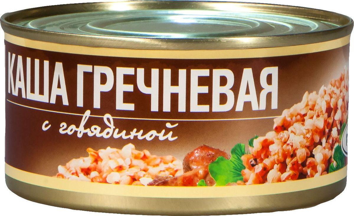 Рузком Каша гречневая с говядиной, 325 г рузком колбасная закуска домашняя 325 г