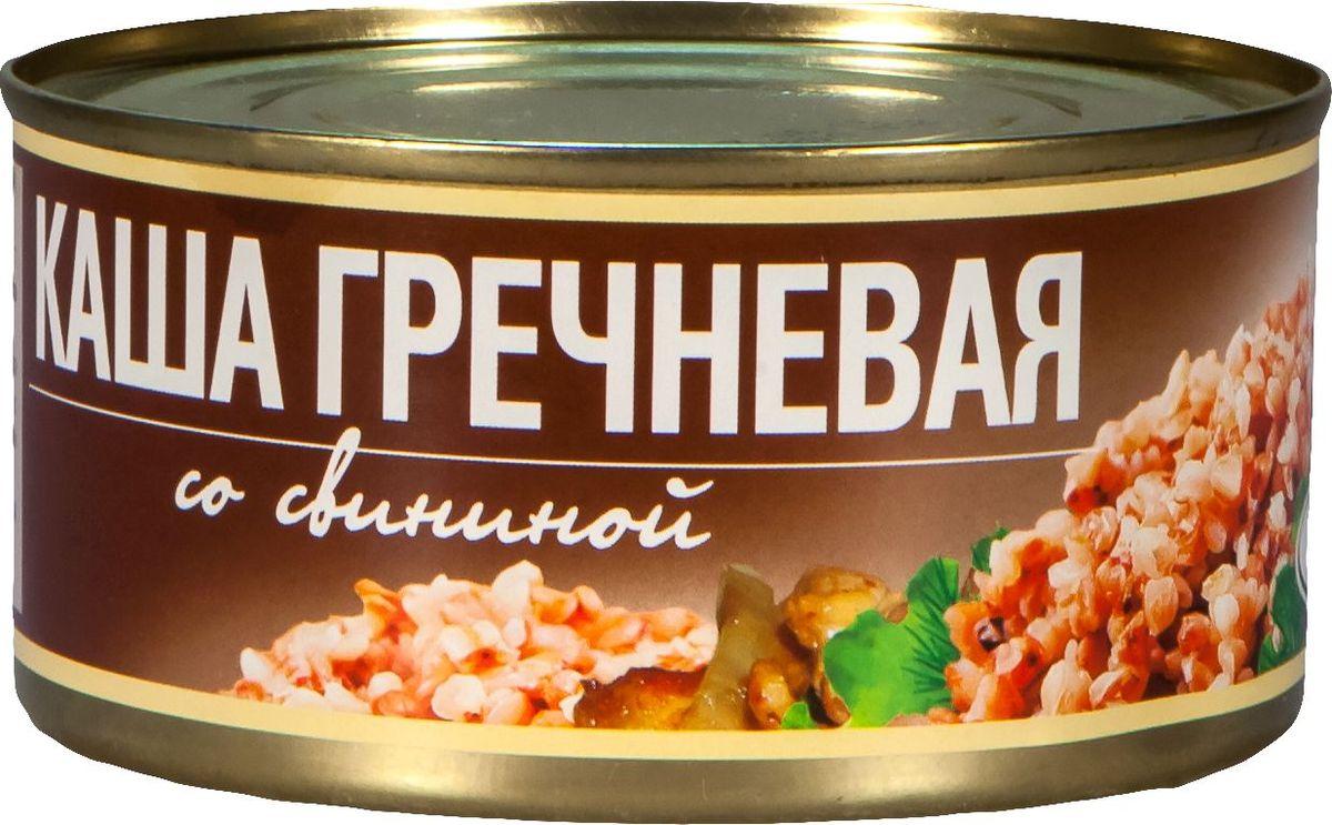 Рузком Каша гречневая со свининой, 325 г рузком каша рисовая с говядиной 325 г
