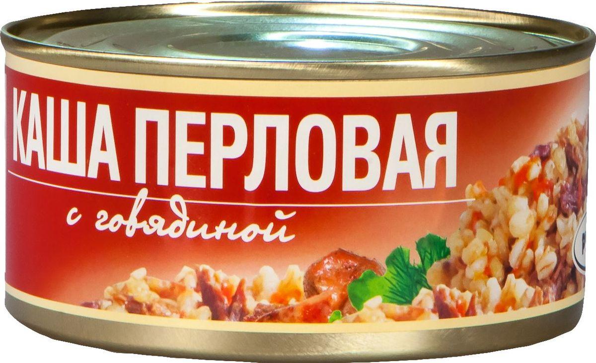 цена на Рузком Каша перловая с говядиной, 325 г