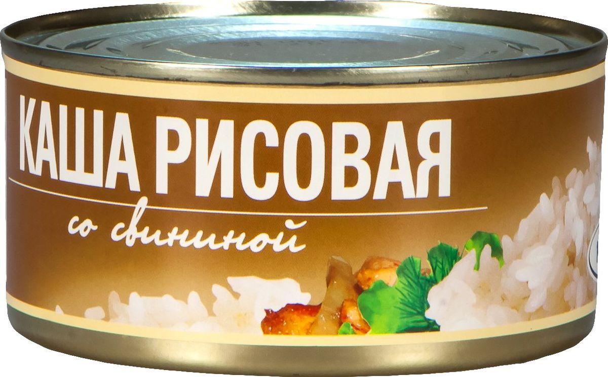 Рузком Каша рисовая со свининой, 325 г рузком каша рисовая с говядиной 325 г