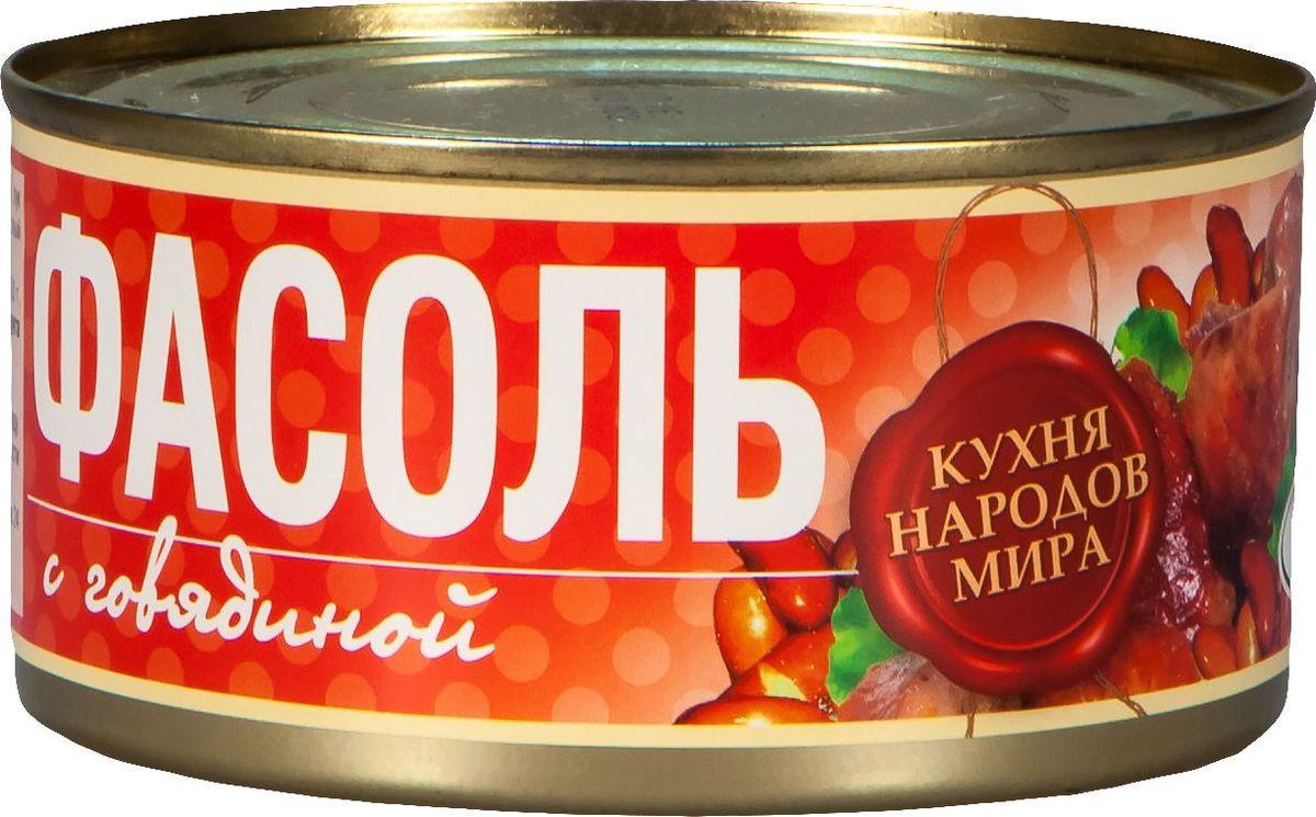 Рузком Фасоль с говядиной, 325 г рузком каша рисовая с говядиной 325 г