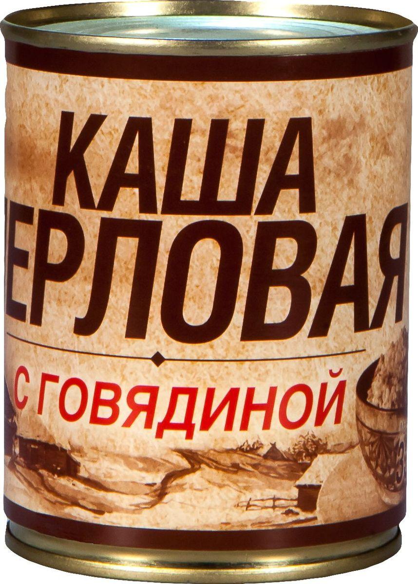 Вотчина Каша перловая с говядиной, 338 г рузком каша рисовая с говядиной 325 г