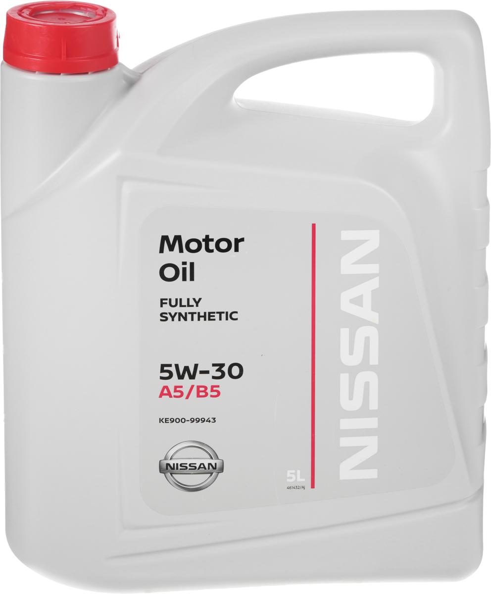"Масло моторное ""Nissan"", синтетическое, класс вязкости 5W-30, 5 л"