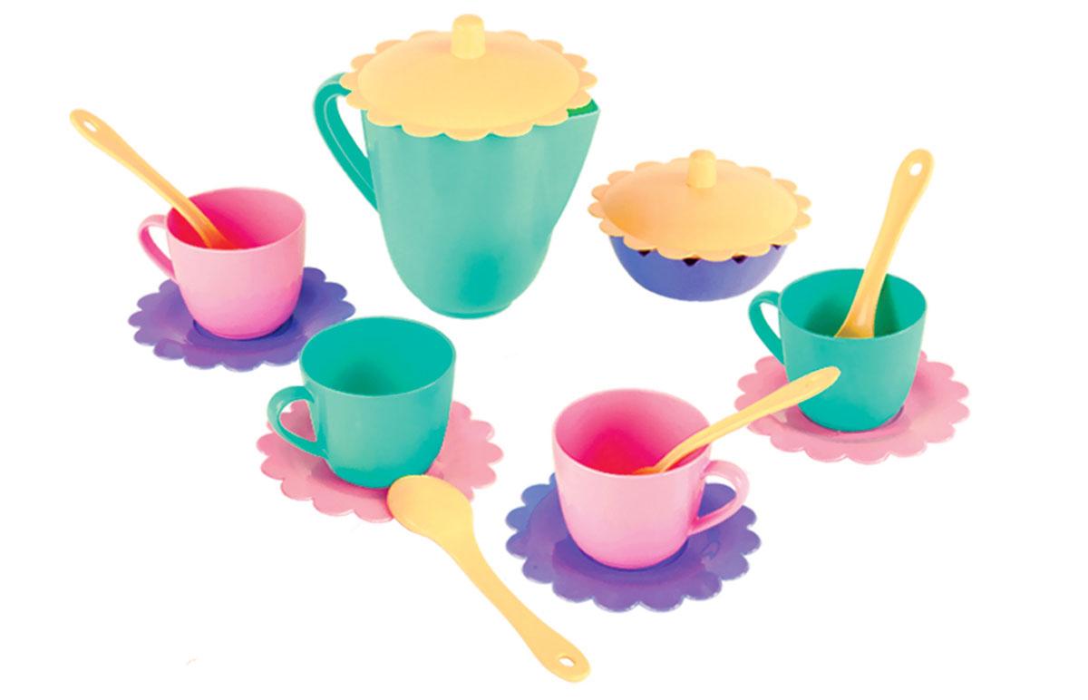 Mary Poppins Игрушечный чайный набор Бабочка 16 предметов ecoiffier игрушечный набор сушилка для посуды