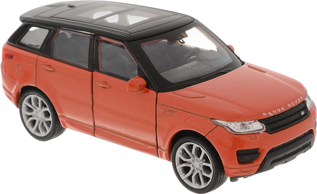 Welly Модель автомобиля Land Rover Range Rover Sport цвет кирпичный