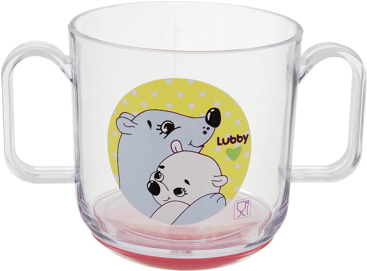 Lubby Кружка детская Веселые животные Медведи 150 мл пенка для купания детская lubby 250 мл от 0 месяцев