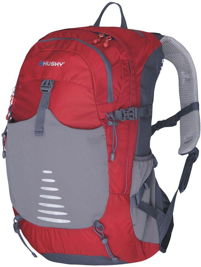 цена на Рюкзак туристический Husky Skid 30, цвет: красный, 30 л