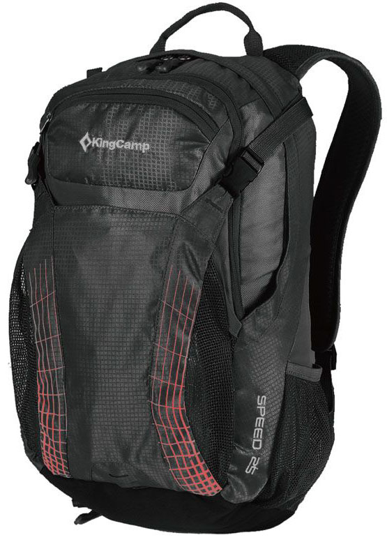 Рюкзак городской King Camp Speed 25, цвет: черный рюкзак городской kingcamp peach 28l цвет красный серый