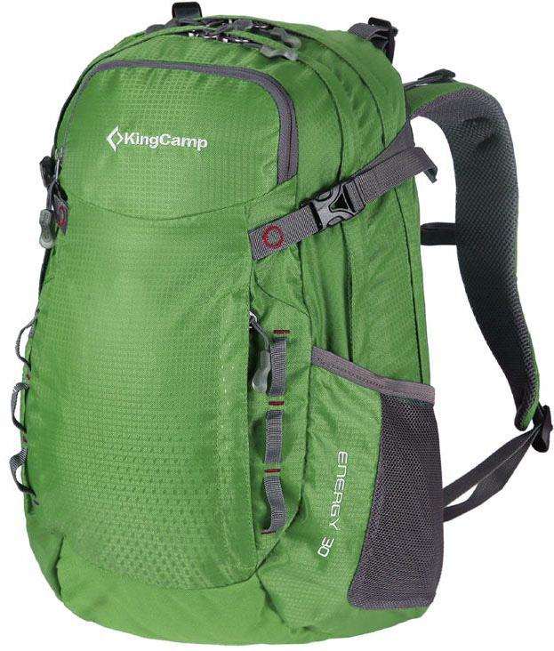 Рюкзак городской King Camp Energy 30, цвет: зеленый рюкзак camp camp rox зеленый
