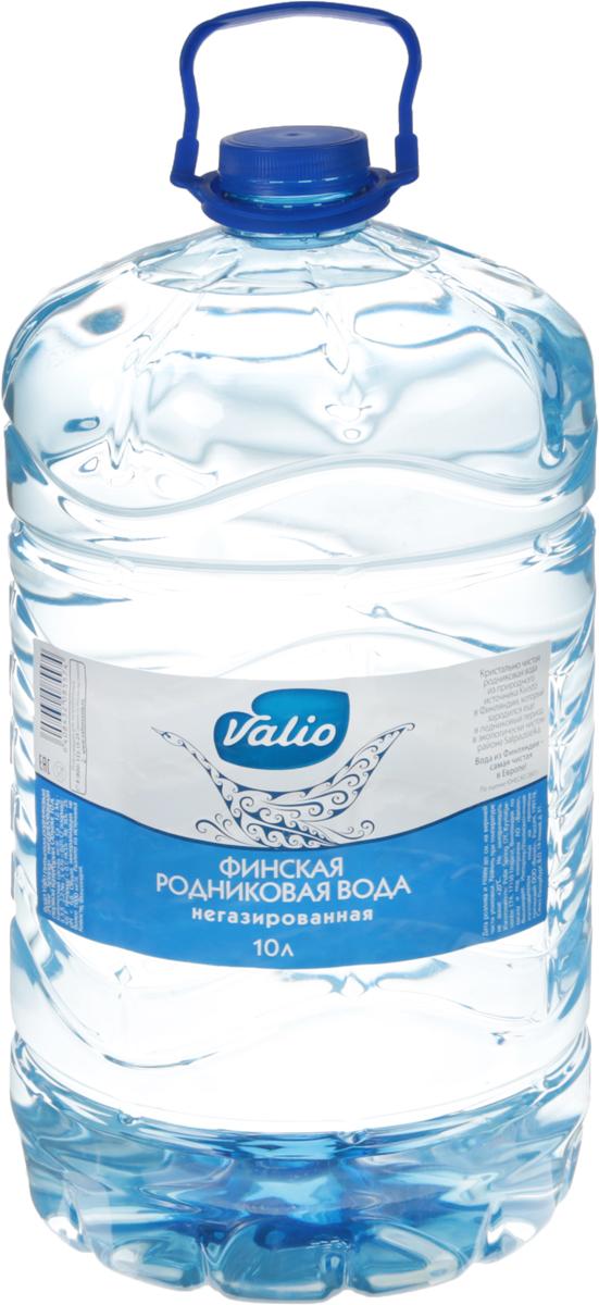 Valio вода питьевая родниковая, 10 л
