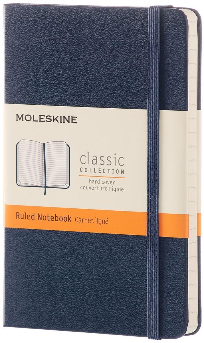 Moleskine Записная книжка Classic Pocket 96 листов в линейку цвет синий