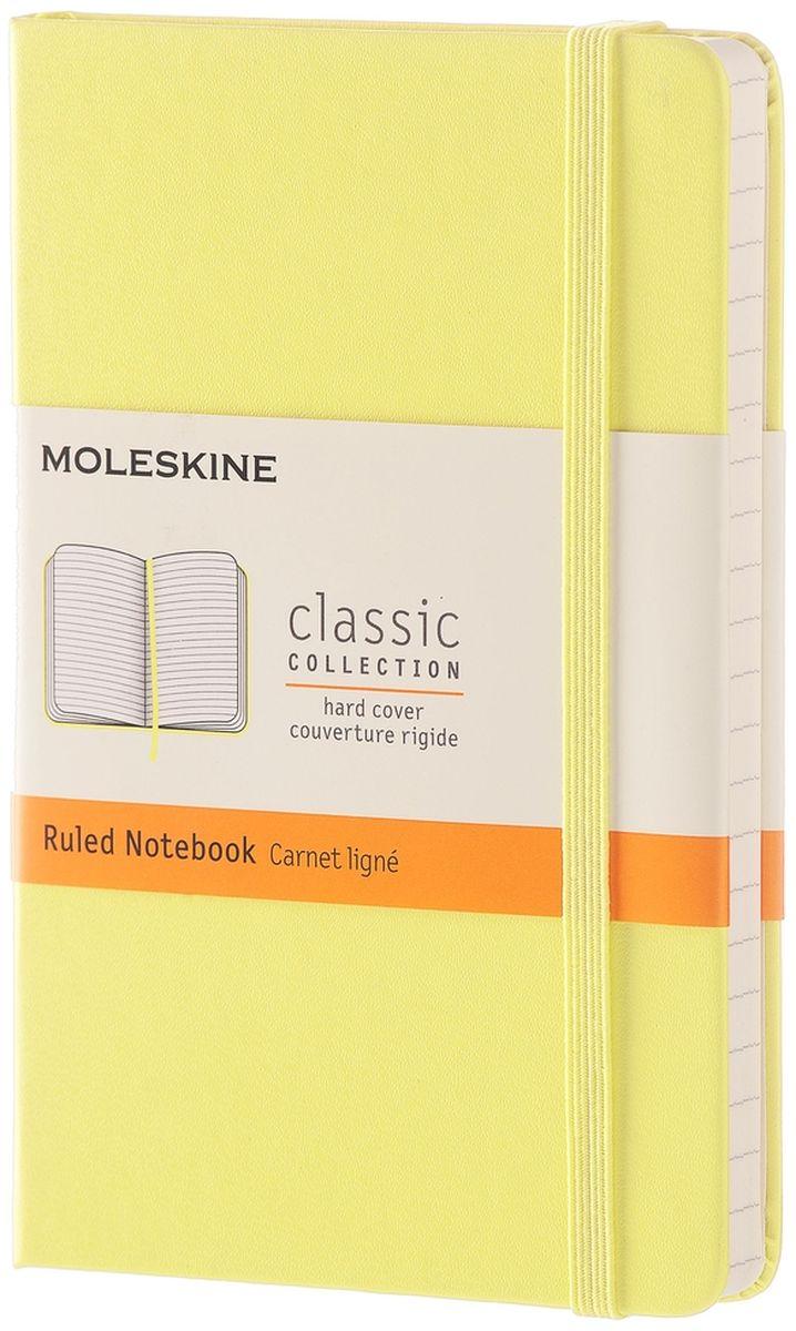 Moleskine Записная книжка Classic Pocket 96 листов в линейку цвет желтый