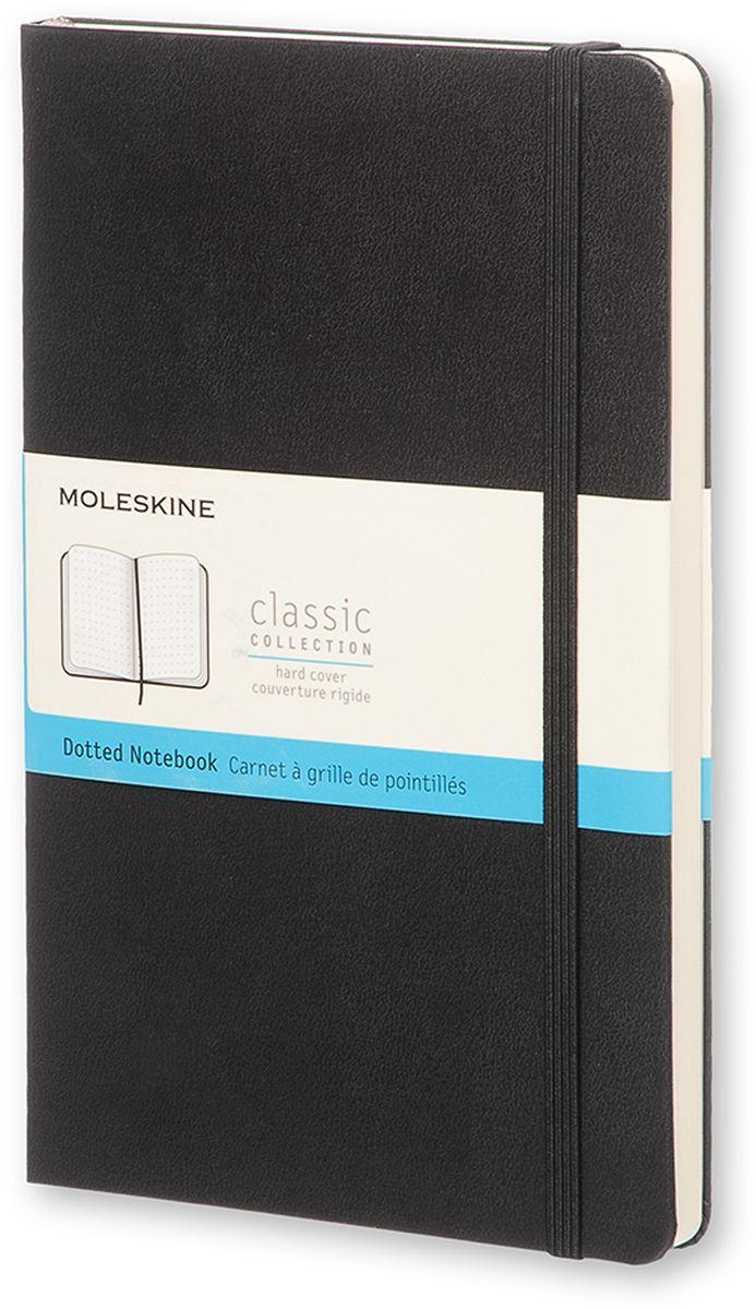 Moleskine Записная книжка Classic Large 120 листов в точку цвет черный