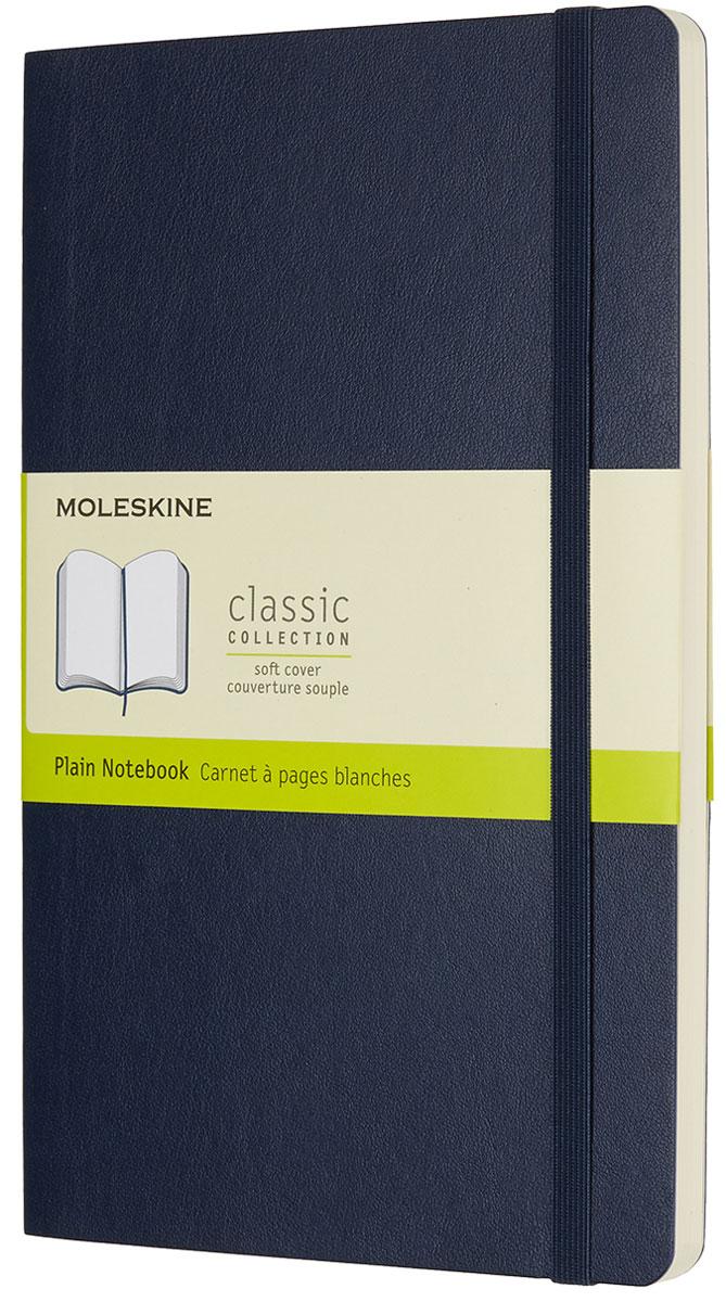 Moleskine Записная книжка Classic Soft Large 96 листов без разметки цвет синий