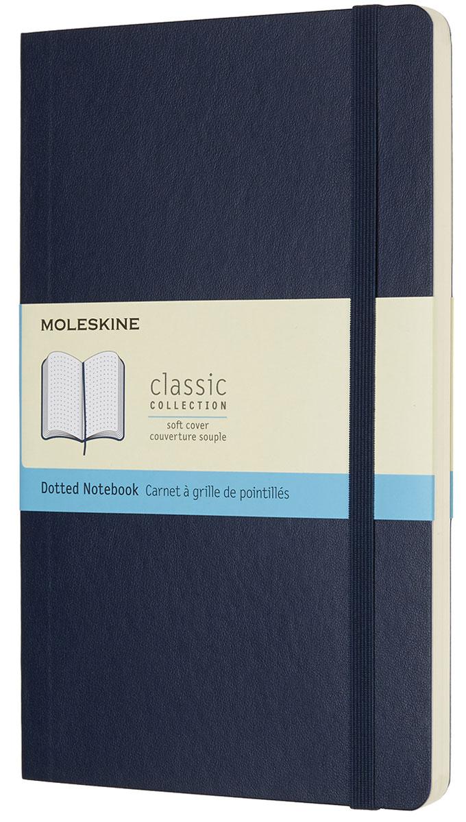 Moleskine Записная книжка Classic Soft Large 96 листов с пунктирной разметкой цвет синий
