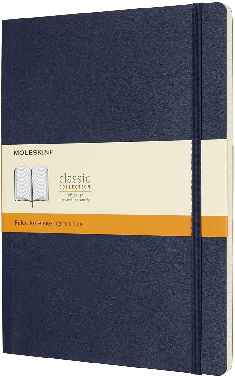 Moleskine Записная книжка Classic Soft Xlarge 96 листов в линейку цвет синий