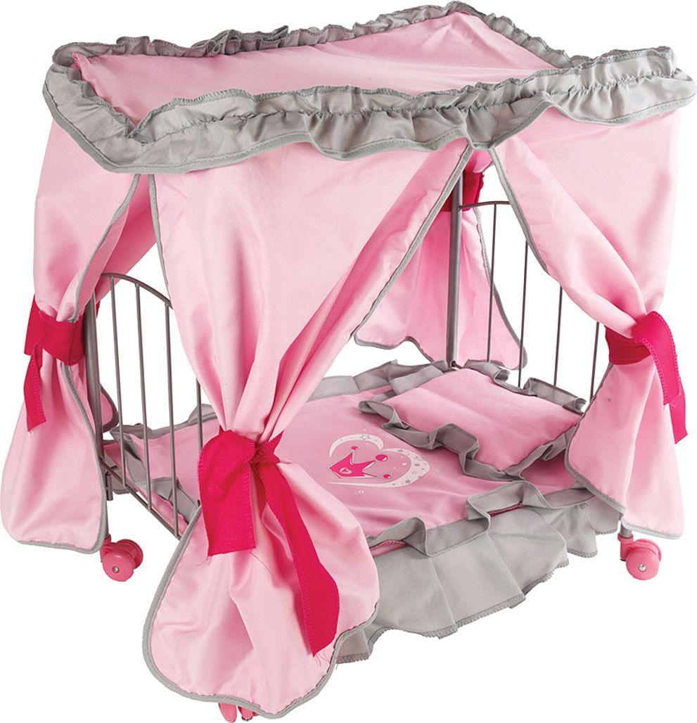 кроватки для кукол Mary Poppins Кроватка для кукол Корона с балдахином