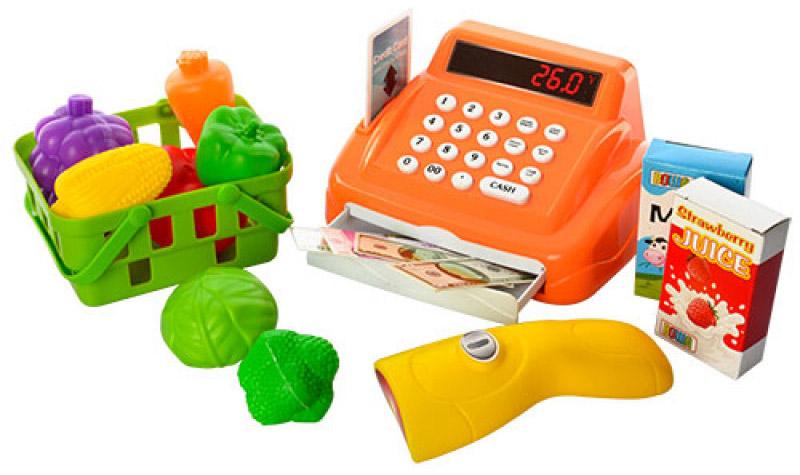 Shantou Gepai Игровой набор Касса с набором продуктов касса shantou кассовый аппарат