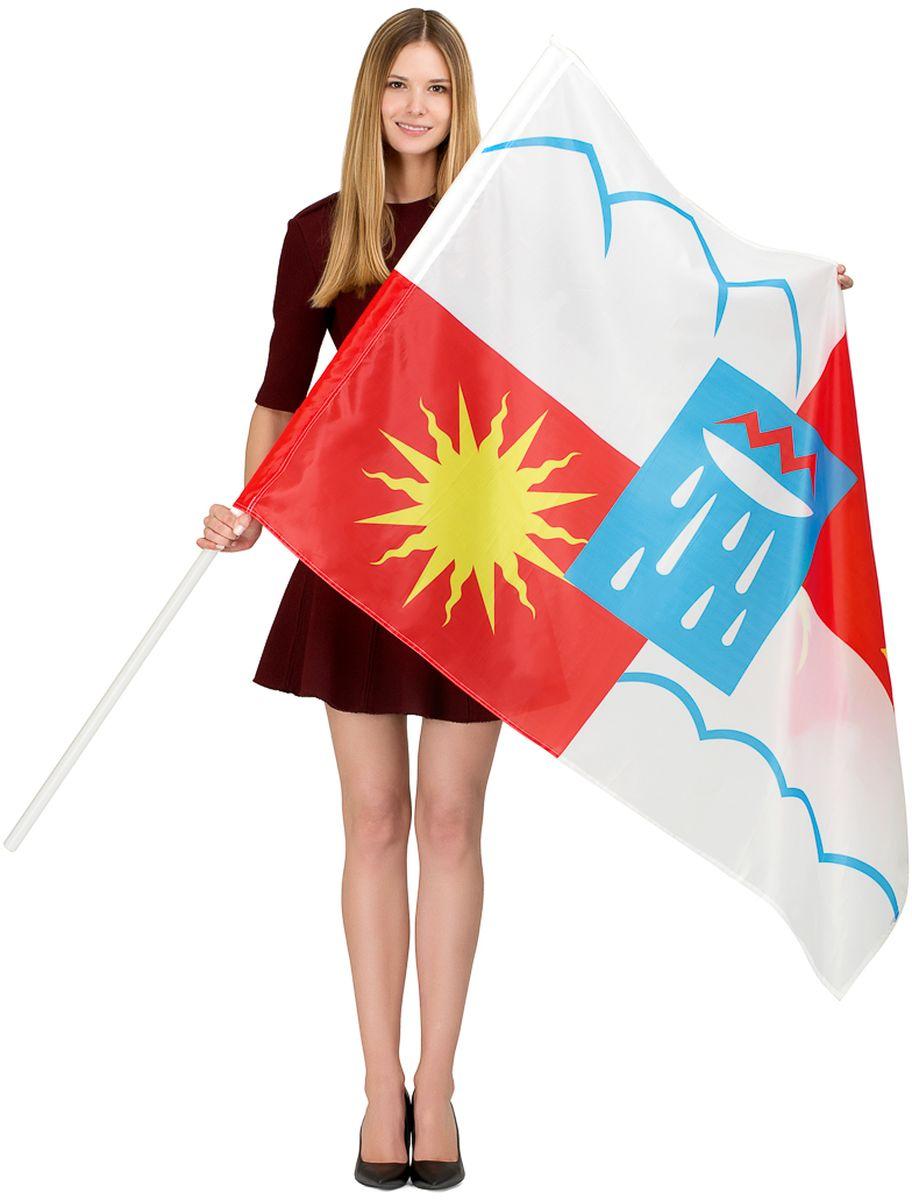 Флаг РусФлаг Сочи, двухсторонний, 90 х 135 см авиабилеты дешево москва сочи