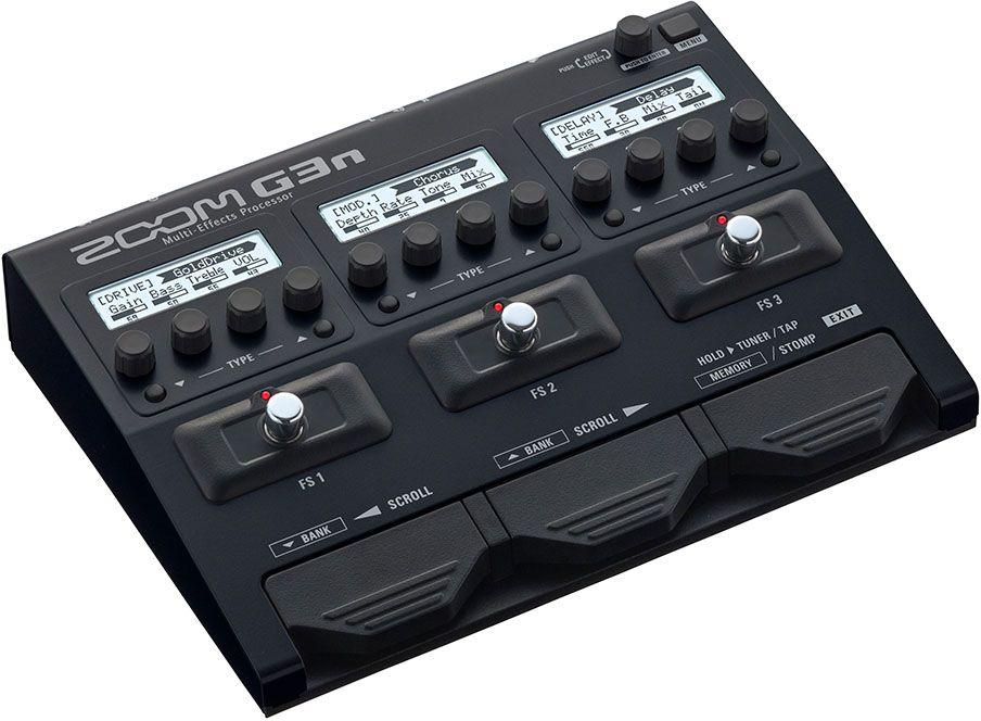 Zoom G3n, Black педаль эффектов для электрогитары zoom g5n black процессор эффектов для электрогитары