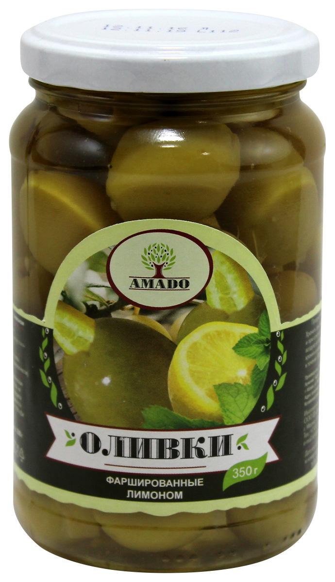 цены на Amado зеленые оливки с лимоном, 350 г  в интернет-магазинах