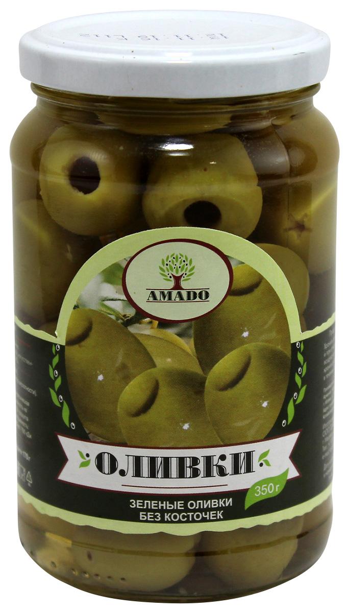 цены на Amado зеленые оливки без косточки, крупные, 350 г  в интернет-магазинах