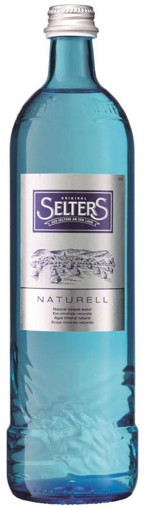 Selters вода минеральная негазированная, 0,8 л стекло