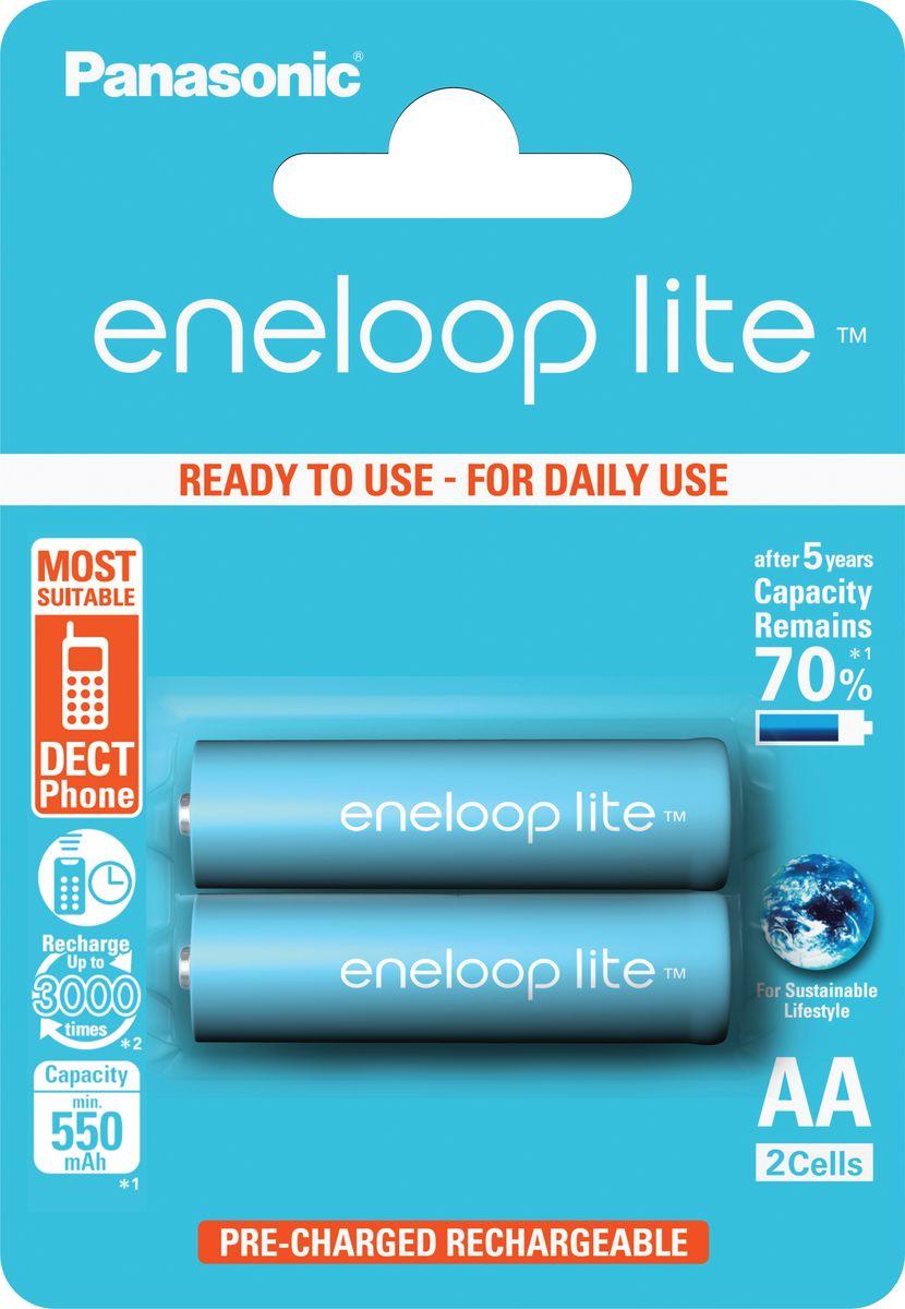 Фото - Аккумулятор Panasonic Eneloop lite, тип АА, 950 mAh, 2 шт аккумулятор