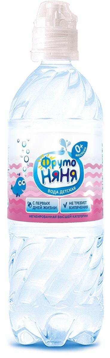 ФрутоНяня водаартезианская питьевая негазированная, 0,33 л