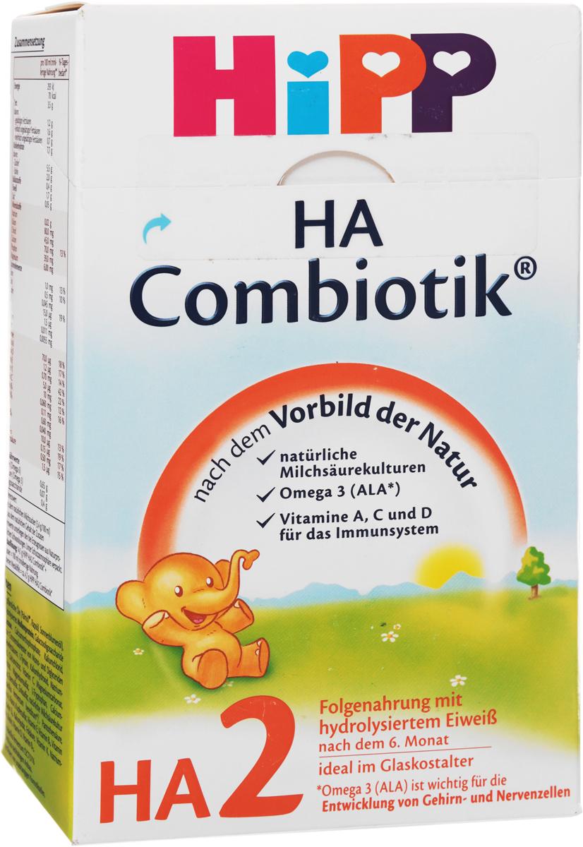 Hipp HA2 Сombiotic смесь молочная, с 6 месяцев, 500 г недорого