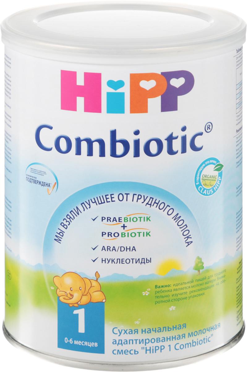 Hipp 1 Сombiotic смесь молочная, с рождения, 350 г недорого