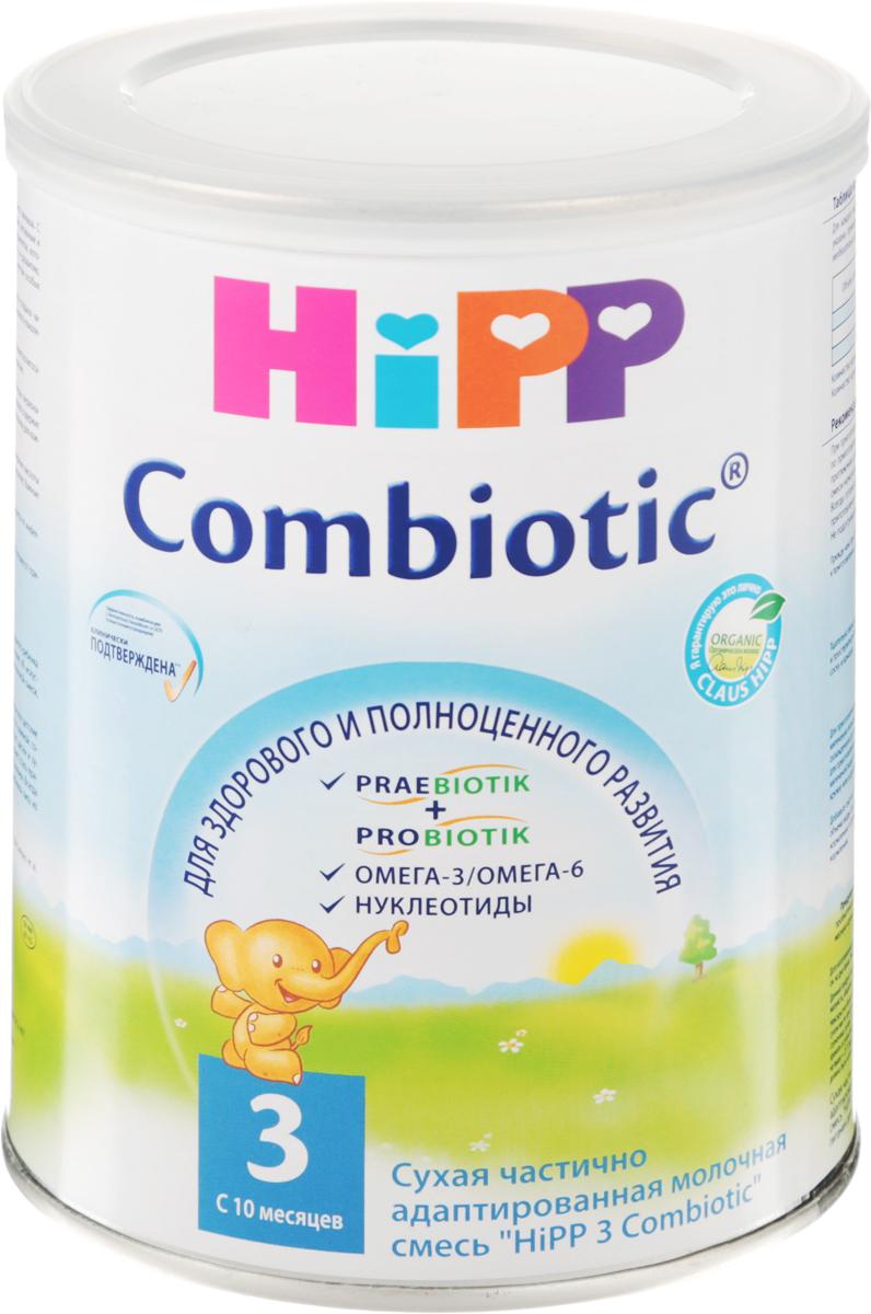 Hipp 3 Сombiotic смесь молочная, с 10 месяцев, 350 г недорого