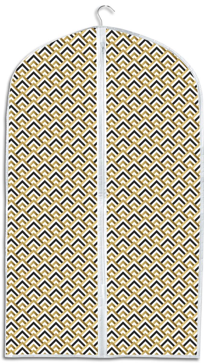 Чехол для хранения одежды Eva Черное золото, 60 x 95 см органайзер для хранения сумок eva черное золото подвесной 36 x 80 см