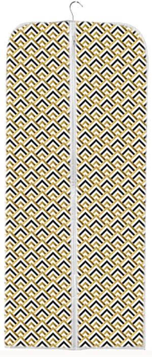 Чехол для хранения одежды Eva Черное золото, 60 x 140 см органайзер для хранения сумок eva черное золото подвесной 36 x 80 см