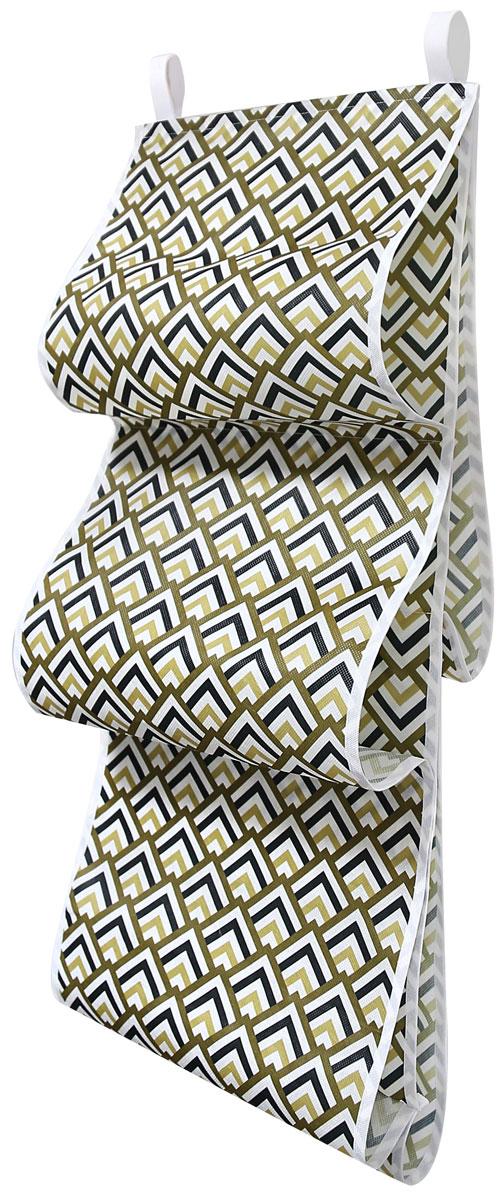 Органайзер для хранения сумок Eva Черное золото, подвесной, 36 x 80 см органайзер для хранения сумок eva черное золото подвесной 36 x 80 см