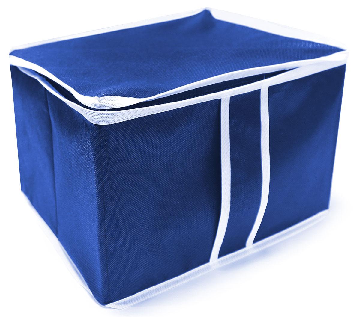 Фото - Органайзер для хранения Eva Василек, цвет: синий, 35 х 30 х 25 см органайзер для хранения вещей eva черное золото 4 отделения 30 х 30 х 10 см