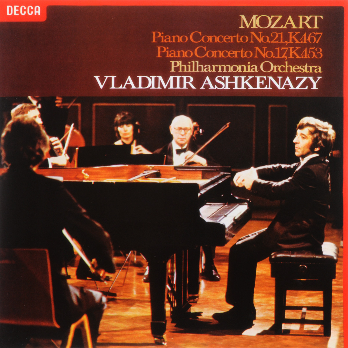 Владимир Ашкенази,Philharmonia Orchestra Vladimir Ashkenazy. Mozart. Piano Concertos Nos.17 & 21 (LP) vladimir ashkenazy beethoven the piano concertos 3 cd