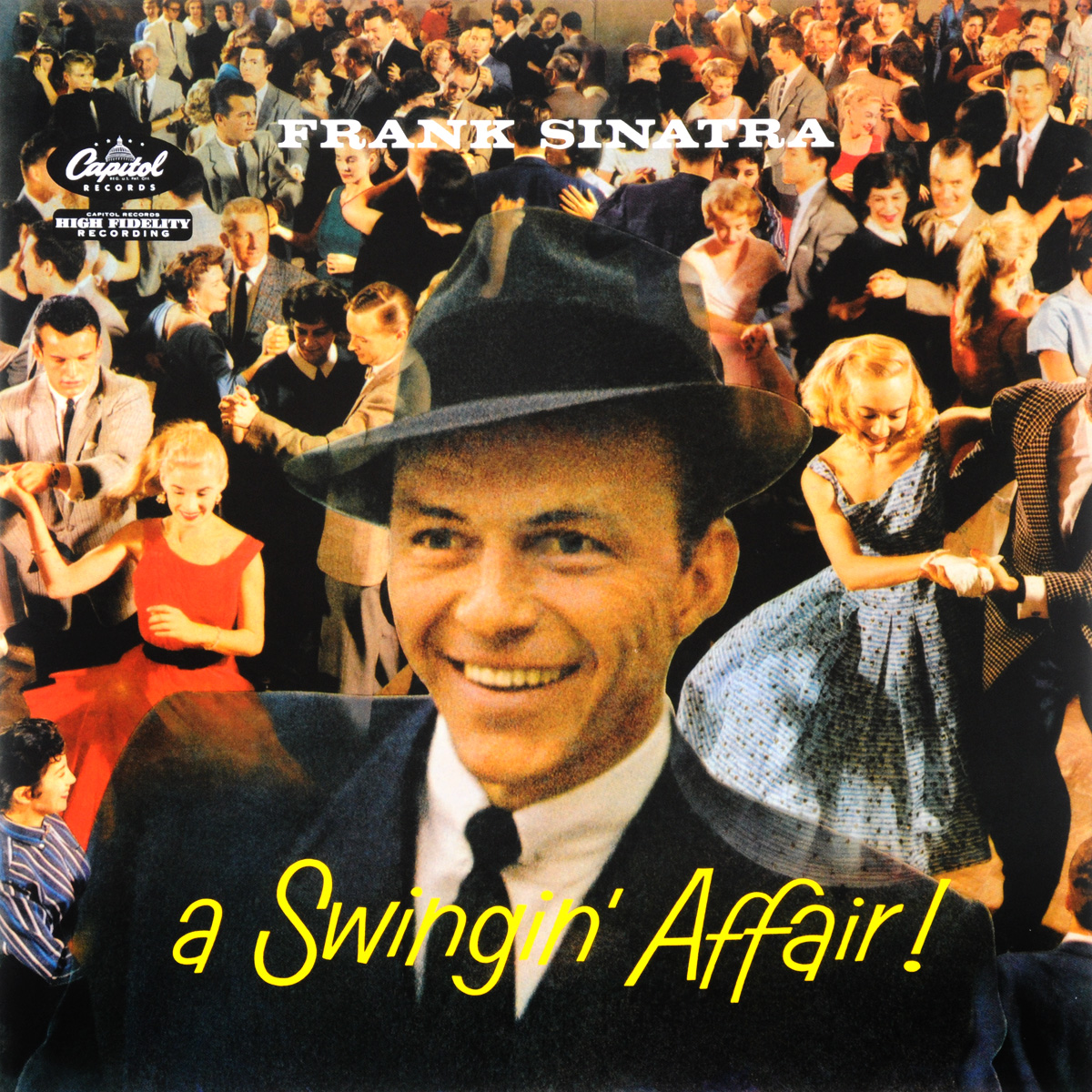 Frank Sinatra. A Swingin' Affair! 60th Anniversary (LP)