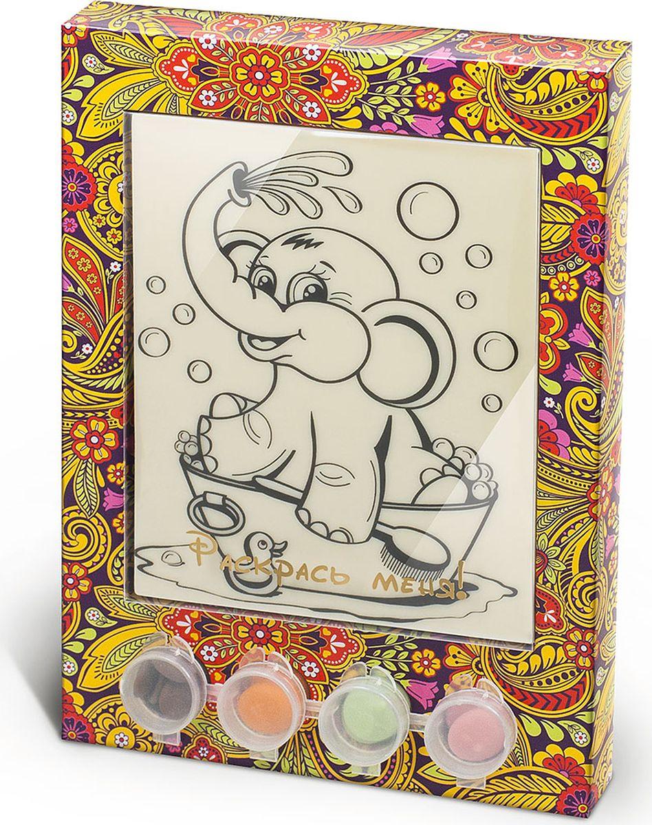 Лакомства для здоровья набор шоколада и глазури раскраска Слоник, 110 г