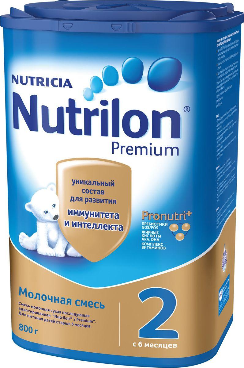 Молочная смесь Nutrilon Premium 2, 800 г