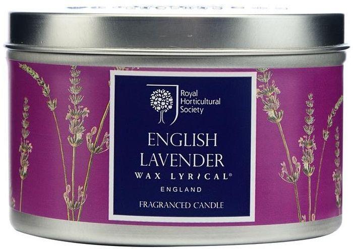 Свеча ароматическая Wax Lyrical Цветущая лаванда, 8 х 8 х 5,6 см ароматизатор интерьерный wax lyrical цветущая лаванда