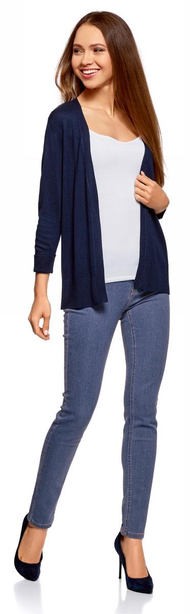Джинсы oodji Ultra джинсы женские oodji ultra цвет темно синий джинс 12103156 46787 7900w размер 29 32 48 32