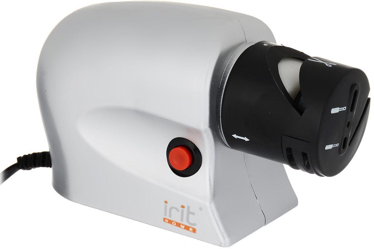 Ножеточка электрическая Irit IR-5830, White galaxy gl 2441 ножеточка электрическая